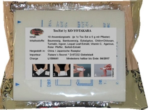 Tox Ext Kenko`Takara - Japanese Herbal Pad / Patch